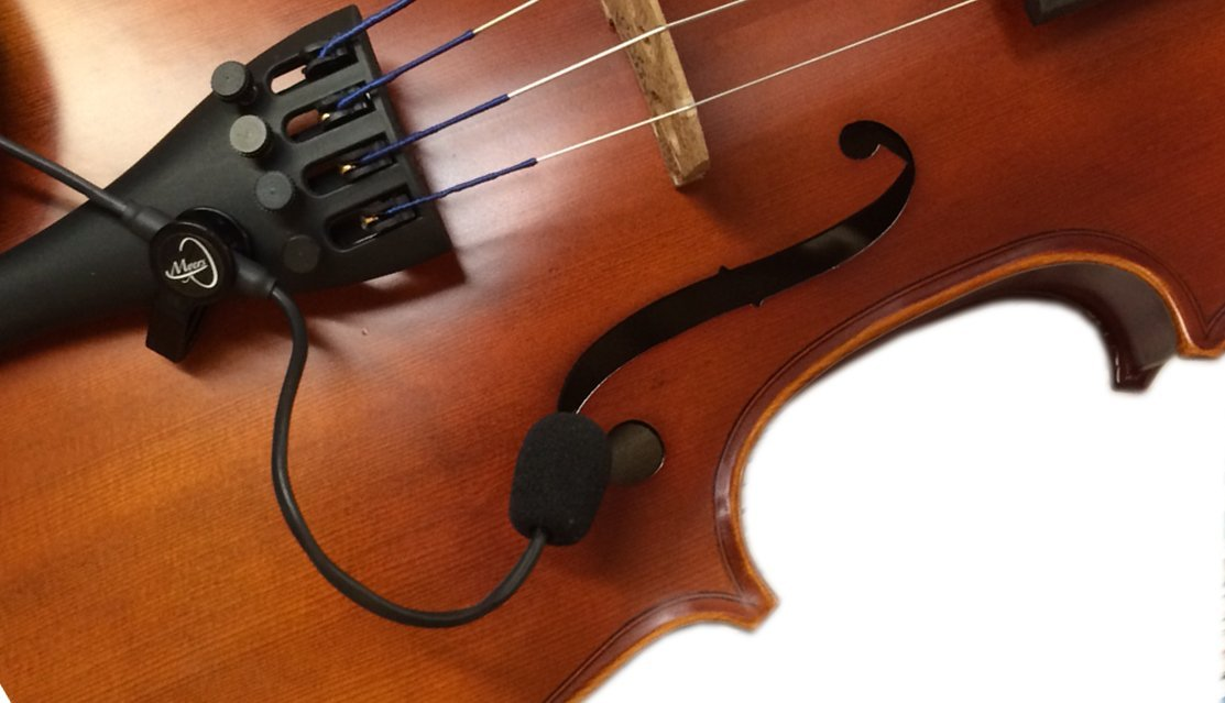 Violin pickup named 'The Feather'